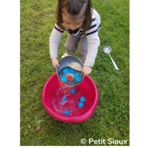 activité transvasement vider l'eau
