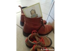 activité enfant chasse au trésor 3 ans lieu indice chaussures