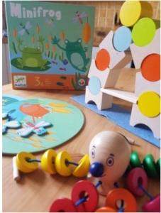jouets en bois pieuvre libelulle