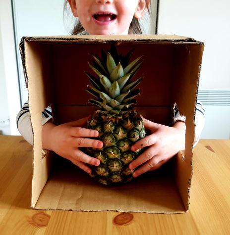 activité sensorielle enfant devinette tactile