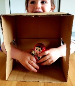 activité sensorielle devinette poupée russe