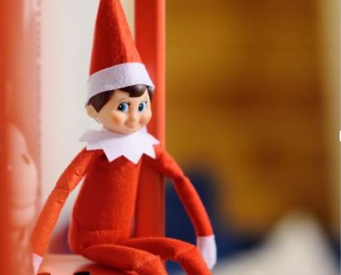 Lutin farceur de Noël